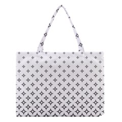 Star Pattern Decoration Geometric Medium Tote Bag