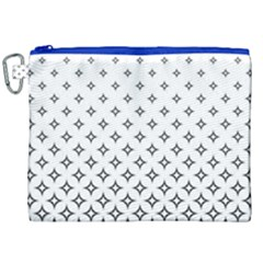 Star Pattern Decoration Geometric Canvas Cosmetic Bag (xxl) by Celenk
