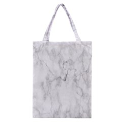 White Background Pattern Tile Classic Tote Bag by Celenk