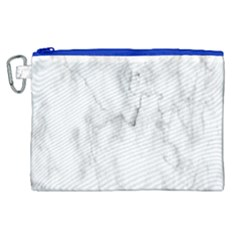 White Background Pattern Tile Canvas Cosmetic Bag (xl) by Celenk