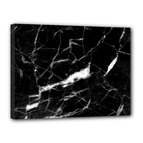 Black Texture Background Stone Canvas 16  X 12