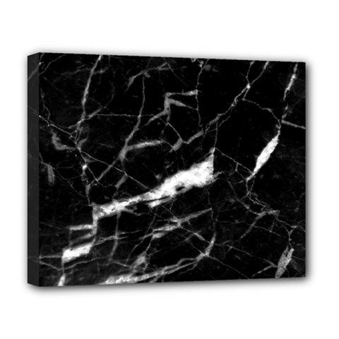 Black Texture Background Stone Deluxe Canvas 20  X 16