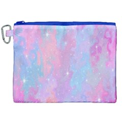 Space Psychedelic Colorful Color Canvas Cosmetic Bag (xxl) by Celenk