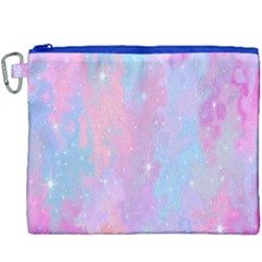 Space Psychedelic Colorful Color Canvas Cosmetic Bag (xxxl) by Celenk