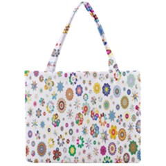 Design Aspect Ratio Abstract Mini Tote Bag by Celenk