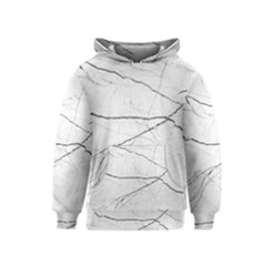 White Background Pattern Tile Kids  Pullover Hoodie by Celenk