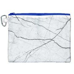 White Background Pattern Tile Canvas Cosmetic Bag (xxl) by Celenk