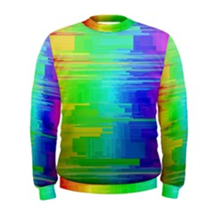 Colors Rainbow Chakras Style Men s Sweatshirt