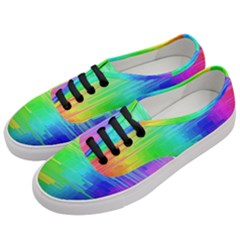 Colors Rainbow Chakras Style Women s Classic Low Top Sneakers by Celenk