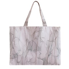 Background Modern Smoke Design Zipper Mini Tote Bag by Celenk