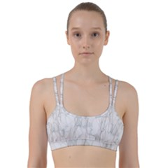 Background Modern Smoke Design Line Them Up Sports Bra by Celenk