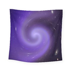 Spiral Lighting Color Nuances Square Tapestry (small) by Celenk