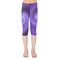 Spiral Lighting Color Nuances Kids  Capri Leggings