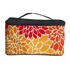 Abstract Art Background Colorful Cosmetic Storage Case by Celenk