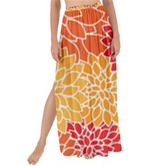 Abstract Art Background Colorful Maxi Chiffon Tie Up Sarong