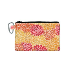 Abstract Art Background Colorful Canvas Cosmetic Bag (small) by Celenk