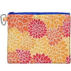 Abstract Art Background Colorful Canvas Cosmetic Bag (xxxl) by Celenk
