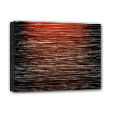 Background Red Orange Modern Deluxe Canvas 16  X 12   by Celenk