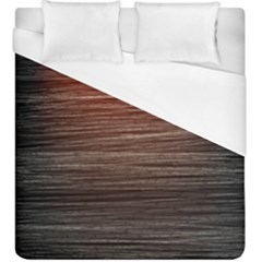 Background Red Orange Modern Duvet Cover (king Size)