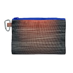 Background Red Orange Modern Canvas Cosmetic Bag (large) by Celenk