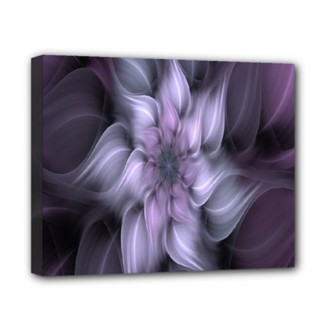Fractal Flower Lavender Art Canvas 10  X 8