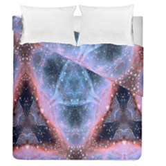 Sacred Geometry Mandelbrot Fractal Duvet Cover Double Side (queen Size) by Celenk