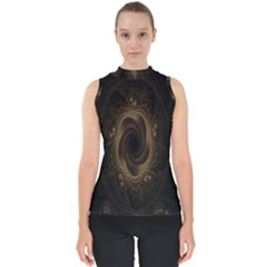 Beads Fractal Abstract Pattern Shell Top by Celenk