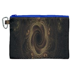Beads Fractal Abstract Pattern Canvas Cosmetic Bag (xl) by Celenk
