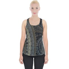 Fractal Spikes Gears Abstract Piece Up Tank Top
