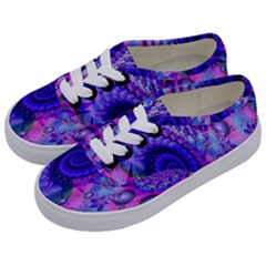 Fractal Fantasy Creative Futuristic Kids  Classic Low Top Sneakers by Celenk