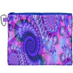 Fractal Fantasy Creative Futuristic Canvas Cosmetic Bag (xxxl) by Celenk