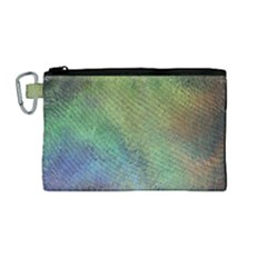 Frosted Glass Background Psychedelic Canvas Cosmetic Bag (medium) by Celenk
