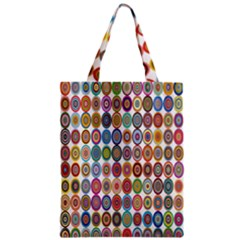 Decorative Ornamental Concentric Classic Tote Bag by Celenk