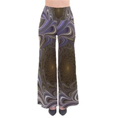 Fractal Waves Whirls Modern Pants by Celenk