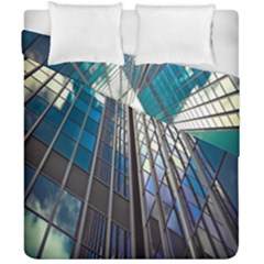 Architecture Skyscraper Duvet Cover Double Side (california King Size) by Celenk