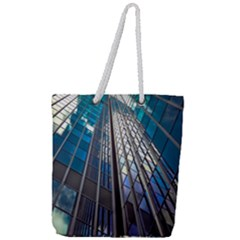 Architecture Skyscraper Full Print Rope Handle Tote (large) by Celenk