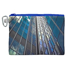Architecture Skyscraper Canvas Cosmetic Bag (xl) by Celenk
