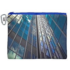 Architecture Skyscraper Canvas Cosmetic Bag (xxl) by Celenk