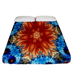 Alchemy Kaleidoscope Pattern Fitted Sheet (queen Size) by Celenk
