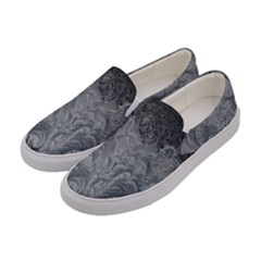 Abstract Art Decoration Design Women s Canvas Slip Ons by Celenk