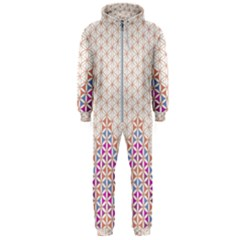 Flower Of Life Pattern 1 Hooded Jumpsuit (men)