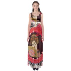Beauty Empire Waist Maxi Dress