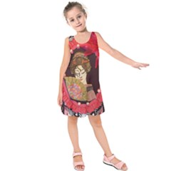 Beauty Kids  Sleeveless Dress