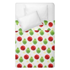 Watercolor Ornaments Duvet Cover Double Side (single Size) by patternstudio