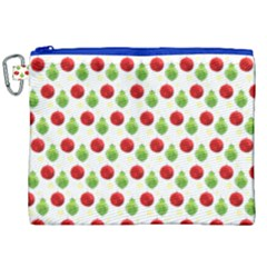 Watercolor Ornaments Canvas Cosmetic Bag (xxl) by patternstudio
