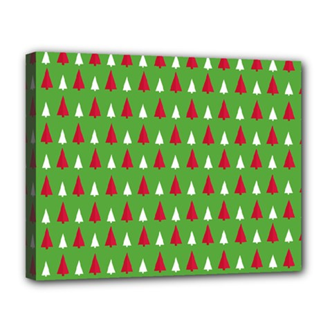 Christmas Tree Canvas 14  X 11  by patternstudio