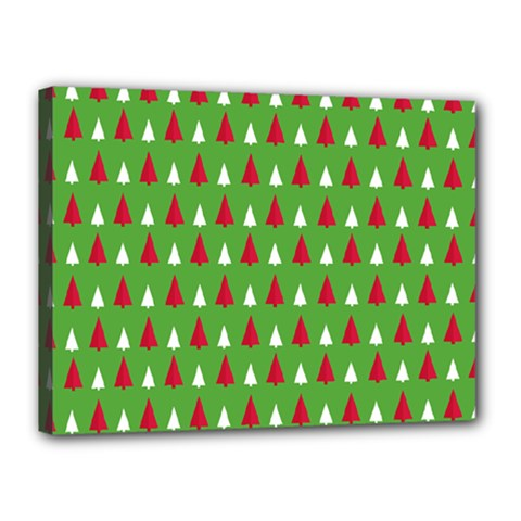 Christmas Tree Canvas 16  X 12  by patternstudio