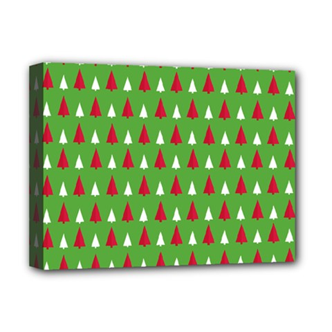 Christmas Tree Deluxe Canvas 16  X 12   by patternstudio