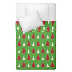 Christmas Tree Duvet Cover Double Side (single Size) by patternstudio