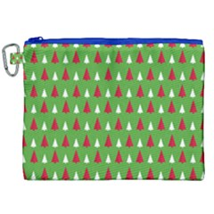 Christmas Tree Canvas Cosmetic Bag (xxl) by patternstudio